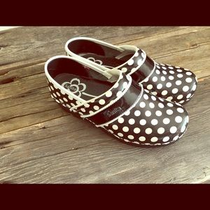 Polka dot Clogs